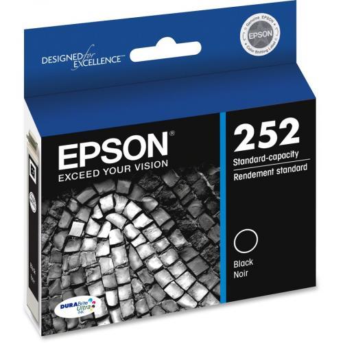 Epson DURABrite Ultra T252120 Original Ink Cartridge   Black Right/500