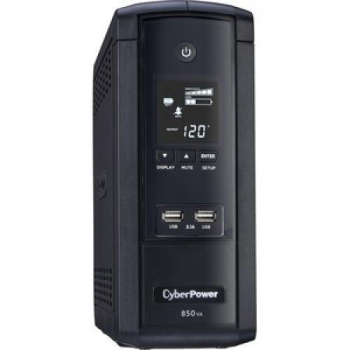 CyberPower UPS Systems BRG850AVRLCD Intelligent LCD    Capacity: 850 VA / 510 W Right/500