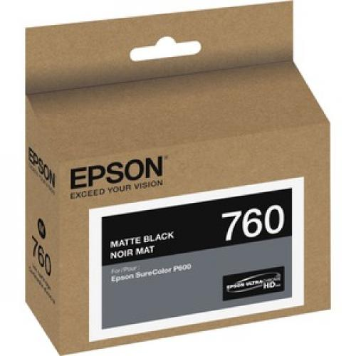 Epson UltraChrome HD T760 Original Ink Cartridge Right/500