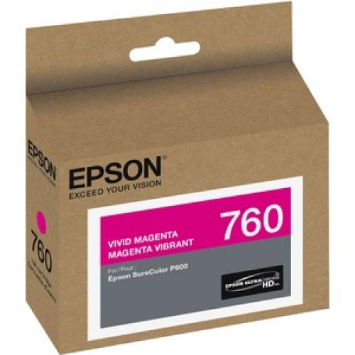 Epson UltraChrome HD T760 Original Ink Cartridge Right/500