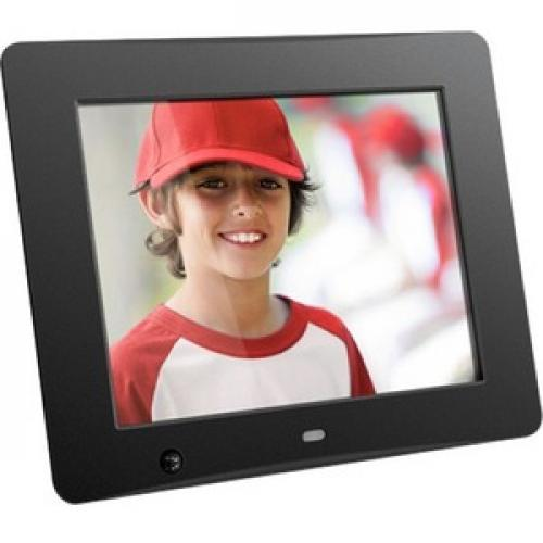 Aluratek 8 Inch Digital Photo Frame With Motion Sensor And 4GB Built In Memory Right/500