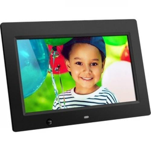 Aluratek 10 Inch Digital Photo Frame With Motion Sensor And 4GB Built In Memory Right/500