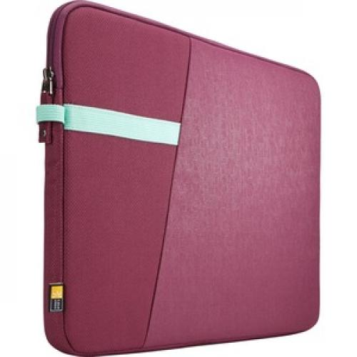 "Case Logic Ibira IBRS 115 Carrying Case (Sleeve) For 15.6"" Tablet   Purple Right/500"
