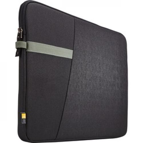 "Case Logic Ibira IBRS 115 Carrying Case (Sleeve) For 15.6"" Tablet   Black Right/500"