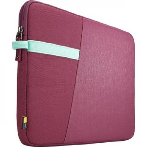 "Case Logic Ibira IBRS 113 Carrying Case (Sleeve) For 13.3"" Tablet   Purple Right/500"