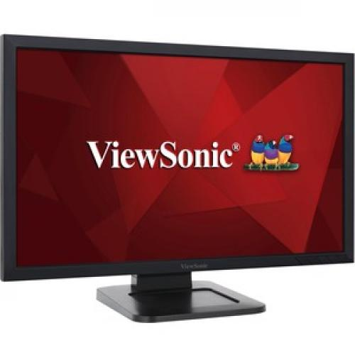 """Viewsonic TD2421 24"""" LCD Touchscreen Monitor   16:9   5 Ms Right/500"""