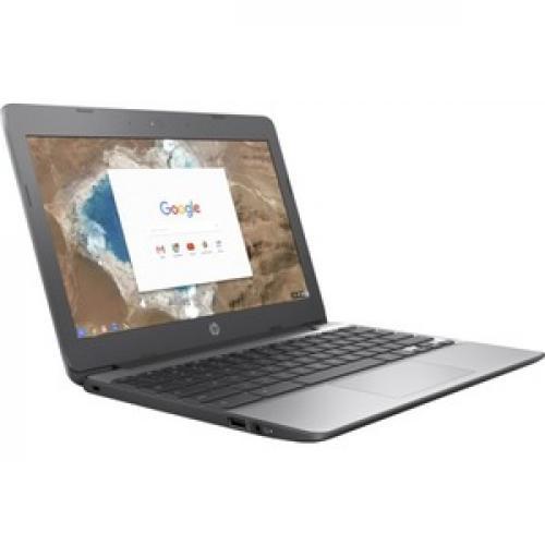 "HP 11 11.6"" Touchscreen Chromebook Intel Celeron N3060 4GB RAM 16GB EMMC   Intel Celeron N3060 Dual Core   Intel HD Graphics 400   In Plane Switching (IPS) Technology   UWVA Corning Gorilla Glass Display   11 Hr 30 Min Battery Life Right/500"