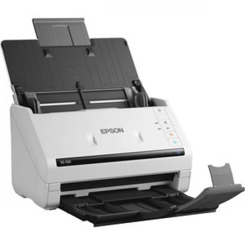 Epson WorkForce DS 530 Sheetfed Scanner   300 Dpi Optical Right/500