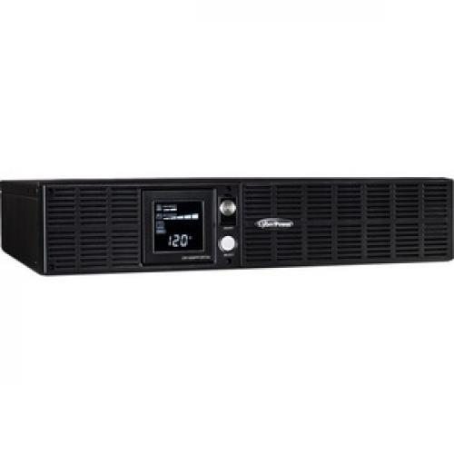 CyberPower OR1000PFCRT2U PFC Sinewave 1000VA Rack Mountable UPS Right/500