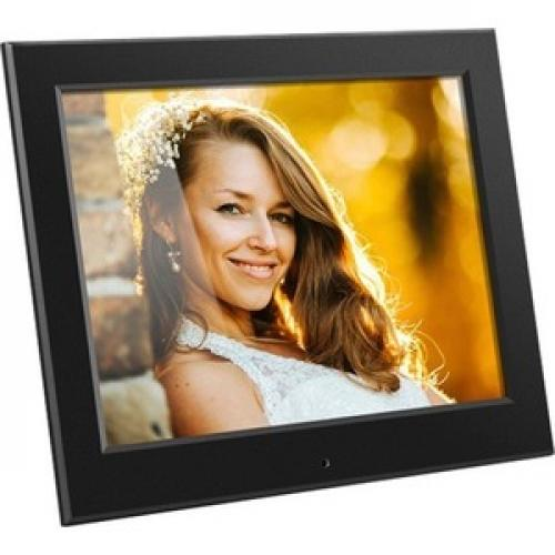 "Aluratek 8"" Slim Digital Photo Frame With Auto Slideshow Feature Right/500"