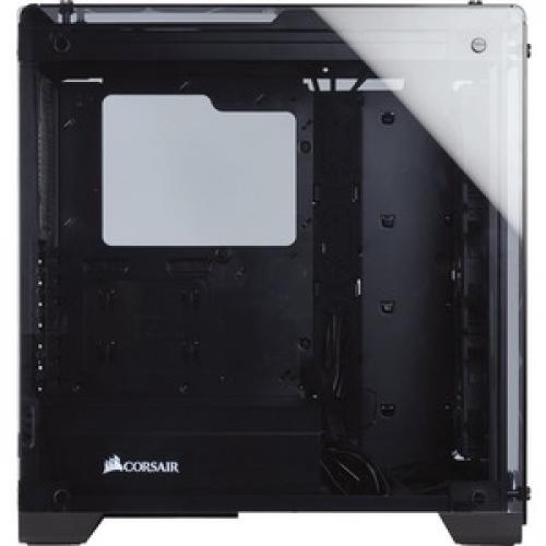 Corsair Crystal Series 570X RGB ATX Mid Tower Case Right/500