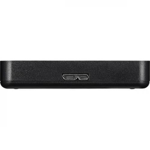 Buffalo MiniStation HD PCF1.0U3BD 1 TB Portable Hard Drive   External   SATA (SATA/300)   TAA Compliant Right/500