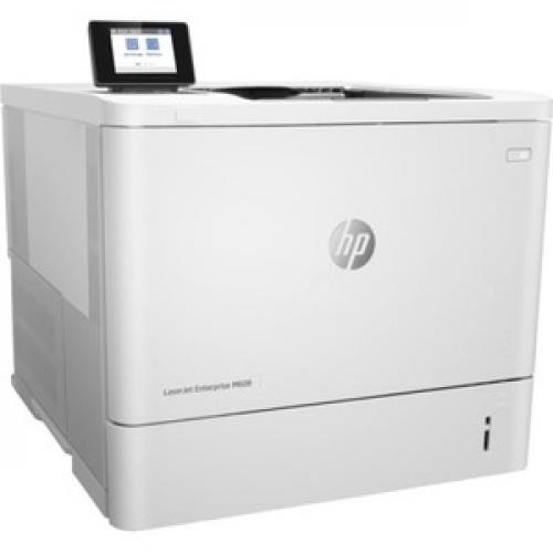 HP LaserJet Enterprise M608N   Printer   Monochrome   Laser Right/500
