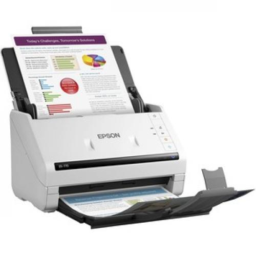 Epson WorkForce DS 770 Sheetfed Scanner   600 Dpi Optical Right/500