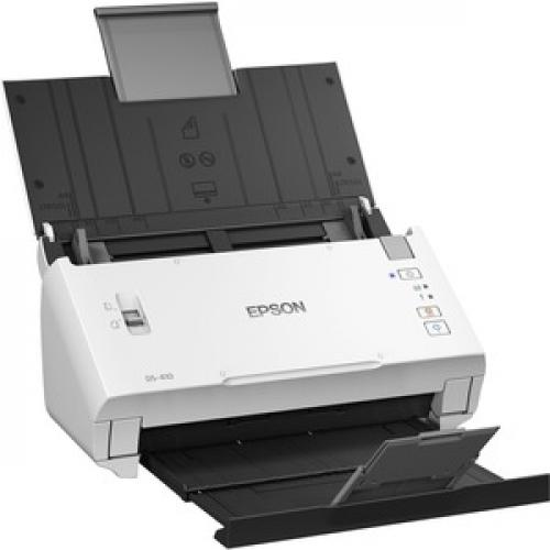 Epson DS 410 Sheetfed Scanner   600 Dpi Optical Right/500
