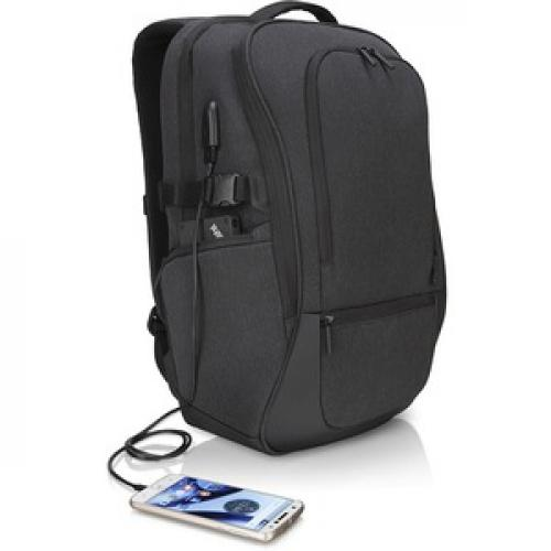 """Lenovo Passage Carrying Case (Backpack) For 17"""" Notebook   Charcoal Right/500"""