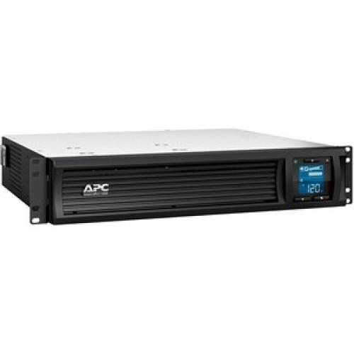 APC By Schneider Electric Smart UPS C 1000VA LCD RM 2U 120V With SmartConnect Right/500