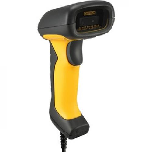 Adesso NuScan 5200TU  Antimicrobial & Waterproof 2D Barcode Scanner Right/500