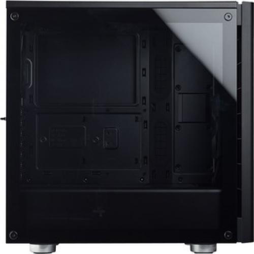 Corsair Carbide Series 275R Mid Tower Gaming Case   Black Right/500