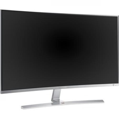 "Viewsonic VX3216 SCMH W 31.5"" Full HD Curved Screen WLED LCD Monitor   16:9   Silver Right/500"