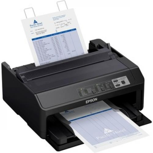 Epson LQ 590II 24 Pin Dot Matrix Printer   Monochrome   Energy Star Right/500
