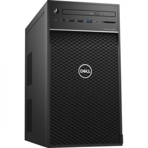 Dell Precision 3630 Workstation Intel Core I7 16GB RAM 1TB HDD 256GB SSD   8th Gen I7 8700K Hexa Core   NVIDIA Quadro P1000 4 GB Graphics   Intel Optane Memory Ready   Tower Form Factor   Windows 10 Pro Right/500