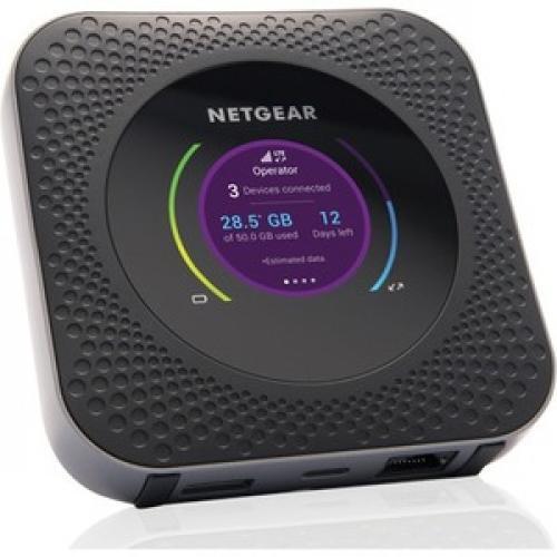 Netgear Nighthawk M1 MR1100 IEEE 802.11ac 1 SIM Cellular Modem/Wireless Router Right/500