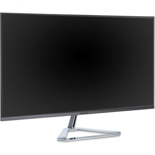 "Viewsonic VX3276 Mhd 31.5"" Full HD LED LCD Monitor   16:9   Metallic Silver Right/500"