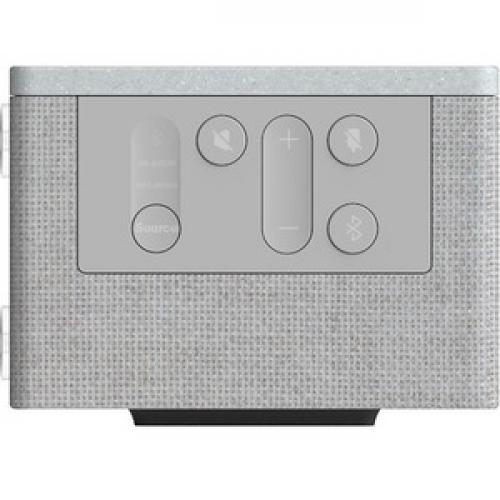 AMX Acendo Vibe ACV 2100GR Bluetooth Sound Bar Speaker   Gray Right/500