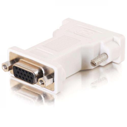 C2G DVI To VGA Video Adapter   DVI Adapter   DVI To HD15   M/F Right/500