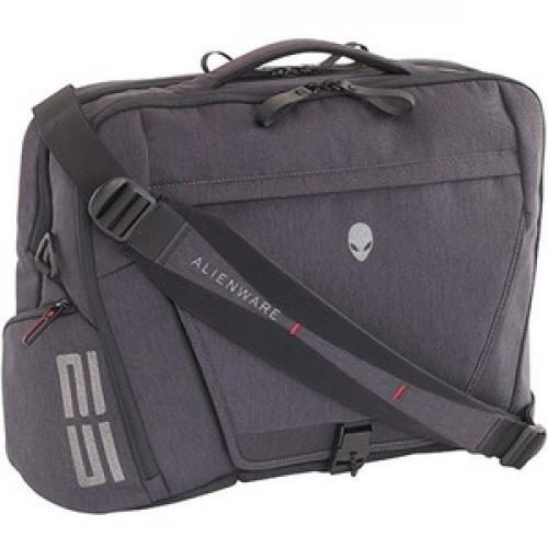 "Mobile Edge Elite Carrying Case (Backpack) For 17.3"" Dell Notebook   Black, Gray Right/500"