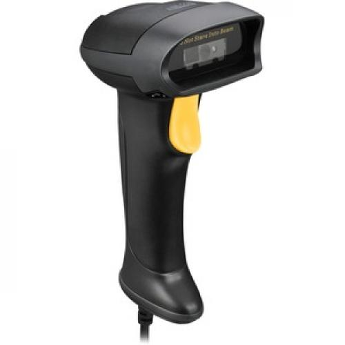 Adesso NuScan 2500TU Spill Resistant Antimicrobial 2D Barcode Scanner Right/500