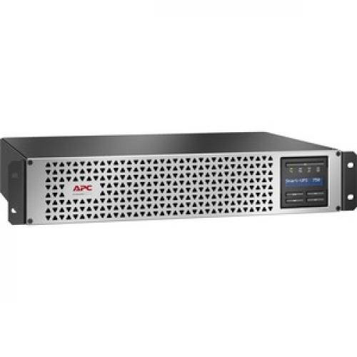 APC By Schneider Electric Smart UPS SMTL750RM2UC Rack Mountable 750VA UPS (Not For Sale In Vermont) Right/500