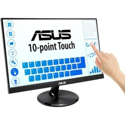 "Asus VT229H 21.5"" LCD Touchscreen Monitor   16:9   5 Ms GTG Right/500"