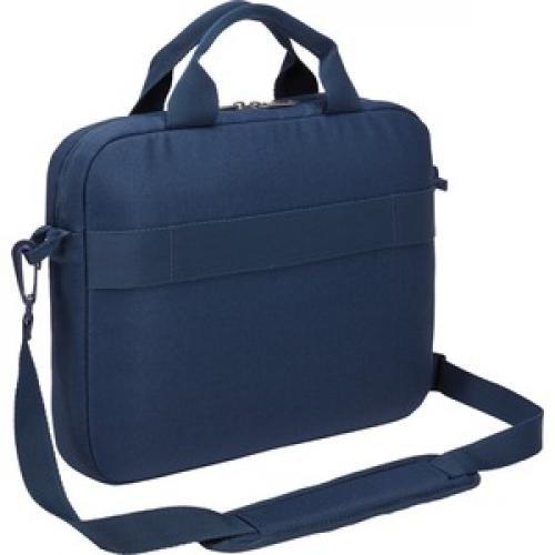 "Case Logic Advantage ADVA 111 DARK BLUE Carrying Case (Attaché) For 10"" To 12"" Notebook   Dark Blue Right/500"