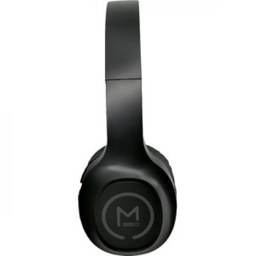 Morpheus 360 Tremors Wireless On Ear Headphones   Bluetooth 5.0 Headset With Microphone   HP4500B Right/500