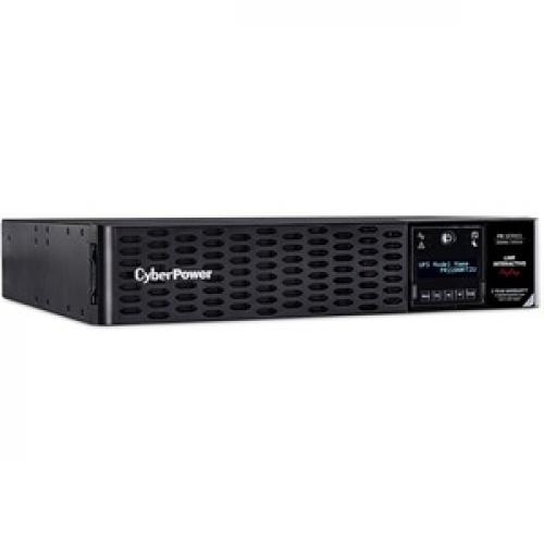 CyberPower Smart App Sinewave 2200VA Tower/Rack Convertible UPS Right/500