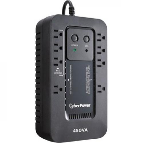 CyberPower Ecologic EC450G 450VA Compact UPS Right/500