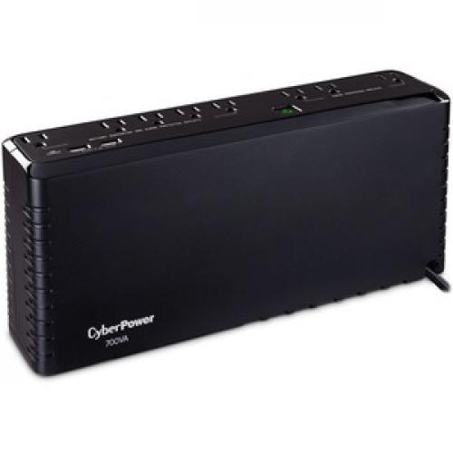 CyberPower Standby SL700U 700VA Slim Line UPS Right/500