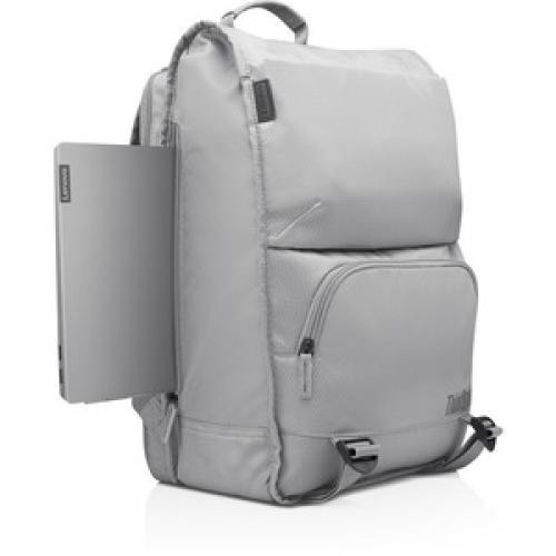 "Lenovo Carrying Case (Backpack) For 15.6"" Lenovo Notebook   Gray Right/500"
