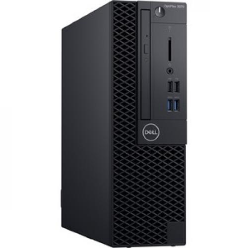 Dell OptiPlex 3000 3070 Desktop Computer   Intel Core I5 9th Gen I5 9500 3 GHz   8 GB RAM DDR4 SDRAM   256 GB SSD   Small Form Factor Right/500