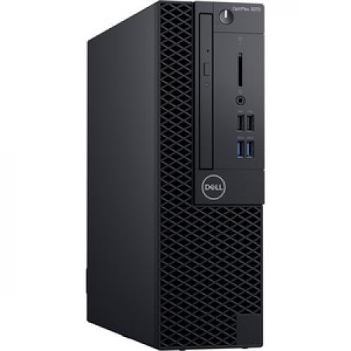 Dell OptiPlex 3000 3070 Desktop Computer   Intel Core I3 9th Gen I3 9100 3.60 GHz   8 GB RAM DDR4 SDRAM   128 GB SSD   Small Form Factor Right/500