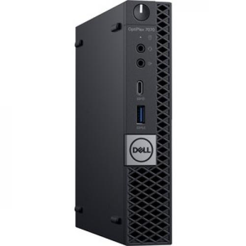 Dell OptiPlex 7000 7070 Desktop Computer   Core I5 I5 9500T   8GB RAM   256GB SSD   Micro PC Right/500