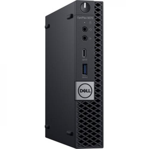 Dell OptiPlex 5000 5070 Desktop Computer   Intel Core I5 9th Gen I5 9500T 2.20 GHz   8 GB RAM DDR4 SDRAM   256 GB SSD   Micro PC Right/500