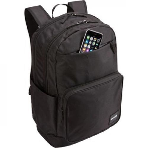 """Case Logic Query CCAM 4116 BLACK Carrying Case (Backpack) For 16"""" Notebook   Black Right/500"""