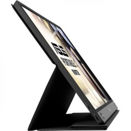 "Asus ZenScreen GO MB16AHP 15.6"" Full HD WLED LCD Monitor   16:9   Black, Gray Right/500"