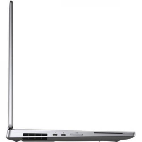 """Dell Precision 7000 7540 15.6"""" Mobile Workstation   1920 X 1080   Intel Core I7 (9th Gen) I7 9850H Hexa Core (6 Core) 2.60 GHz   8 GB RAM   512 GB SSD   Silver Right/500"""