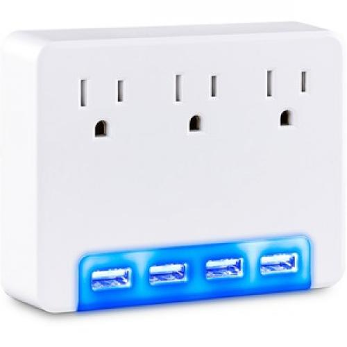 CyberPower Surge Protectors P3WUH Professional    Volts: 125 V Right/500