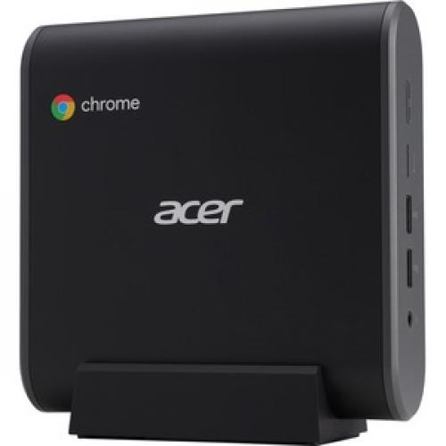 Acer CXI3 Chromebox   Intel Celeron 3867U Dual Core (2 Core) 1.80 GHz   4 GB RAM DDR4 SDRAM   32 GB Serial ATA/600 SSD Right/500