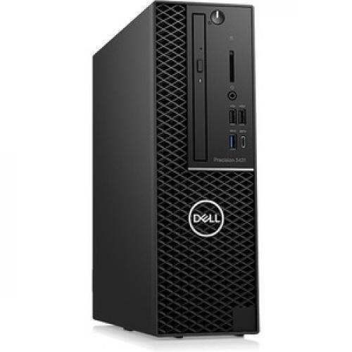 Dell Precision 3000 3431 Workstation   Xeon E 2224   16 GB RAM   256 GB SSD   Small Form Factor Right/500
